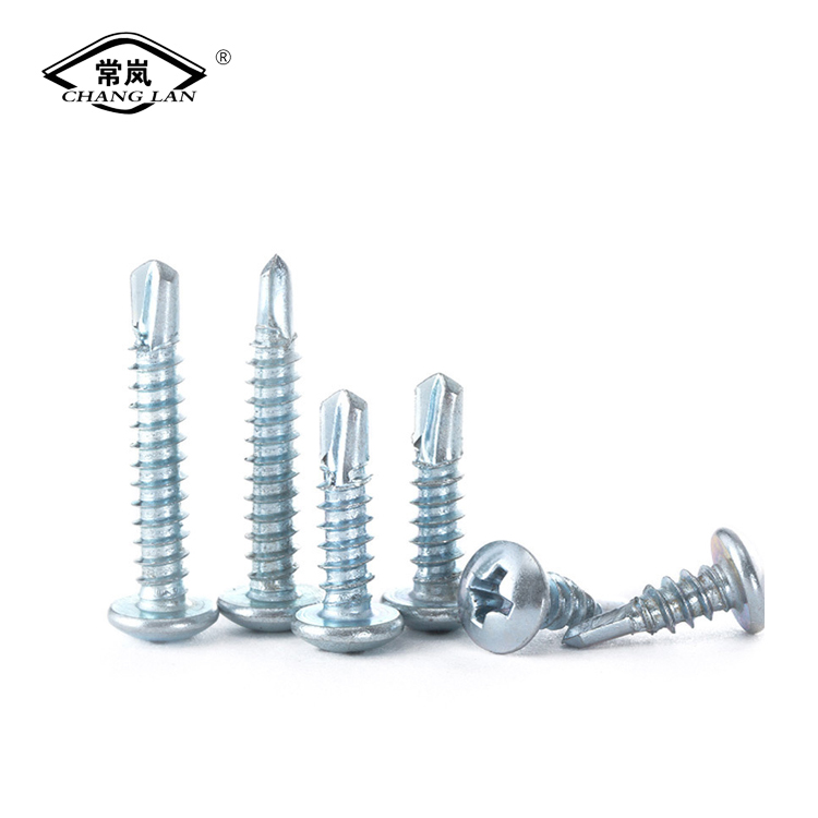 Half round head self tapping