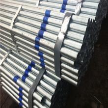 tube d'acier pré-galvanisé à section ronde