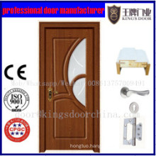 2017 Newest Popular PVC Wood Doors
