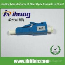 Atenuador de fibra óptica lc