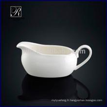 P & T ROYAL WARE Porcelaine jolie sauce design pour restaurant