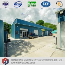 Edificio de oficinas de estructura de acero ligero prefabricado