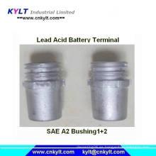 Máquina de moldeo por inyección con terminal de buje Pb de la batería de Kylt