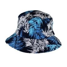 Vente chaude sublimation impression chapeau de pêche floral seau cap