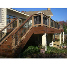 Piso de terraza compuesta Co-Extrusion para uso en exteriores