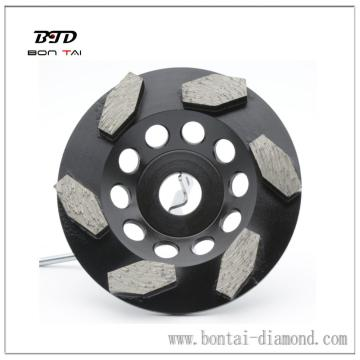 100mm 4 inch Rhombus diamond cup wheel