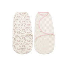 bequemes Baby swaddle Decke Säugling swaddle justierbares Musselin