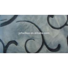 patrón de franela manta mullida jacguard