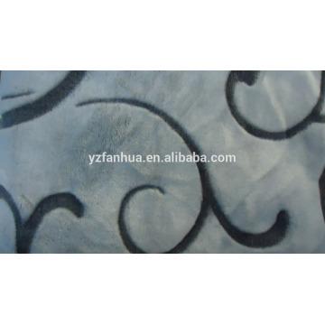 Flanell flauschige Decke Jacguard Muster