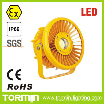 Atex Iecex CE RoHS 50-120W High Power Circular LED Light Anti-Explosion LED Light