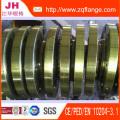 BS4504 Brida de rosca de rosca elevada de acero de carbono forjado