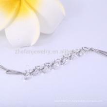 Zircone bijoux chine guangzhou bracelets et bracelets cuivre bracelet