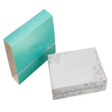 Conjunto de caixa de fósforos de luxo garrafa de vidro pele cuidados conjunto