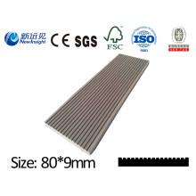 WPC Plank WPC Wandpanel mit SGS CE Fsc ISO Holz Kunststoff Verbund Wasserdicht Plank Dekoration Board für Dustbin Zaun Bank Decking Lhma136