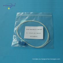 modo simple simplex, pérdida de inserción menor que 0.2dB SC coleta de fibra óptica