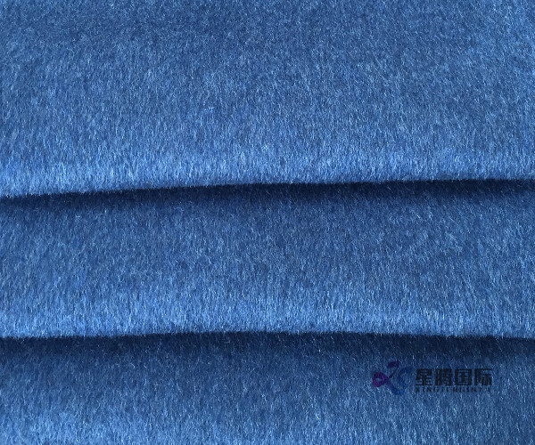 Wool Viscose Alpaca Blend Coat Fabric
