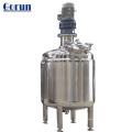 Tanque de mezcla de jugo con camisa térmica de acero inoxidable