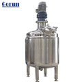 Tanque de mistura químico Jacketed dobro do aquecimento elétrico com agitador