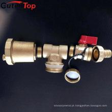 Válvula de latão de segurança de alívio de pressão de bronze Gutentop