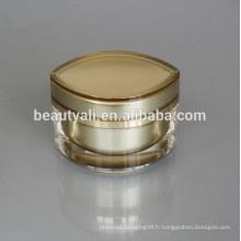 Eye Shape Acrylic Cosmetics Jar For Face Cream Emballage 15ML 30ML 50ML