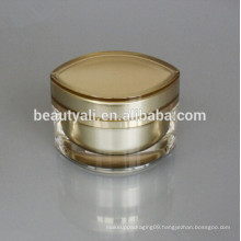 Eye Shape Acrylic Cosmetics Jar For Face Cream Packaging 15ML 30ML 50ML