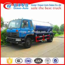 Dongfeng camión de alcantarillado de 10000 litros