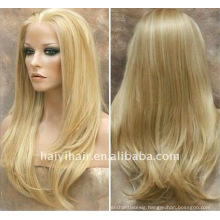 Un processed Natural blonde wigs
