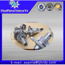 Helical shaft gear