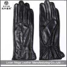 2016 heiße verkaufende lange Frau lederne Handschuhe