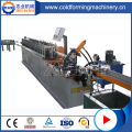 1000 mm Width GI Cross Tee Grid Cold Roll Forming Machine