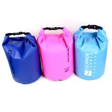 Плавание спортивных 15л ПВХ Водонепроницаемый рюкзак баррель сухой сумки (YKY7240)