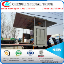 4X2 Middle Type Mobile Stage Truck for Roadshow Truck