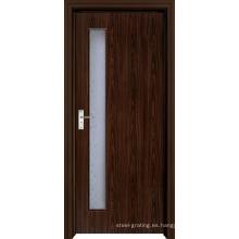 Puerta de madera PVC para cocina o baño (pd-006)
