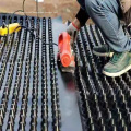 2.5m*30m Roll Height 10mm HDPE Drainage Board Sheet