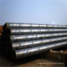 Tubería especial de tubería de acero al carbono soldado en espiral