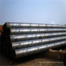 Tuyau spécial en acier au carbone soudé en spirale