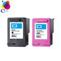 Good quality refill ink cartridge hp 802 ink cartridge for HP Deskjet 1000 1050 2000 205  printer China factory