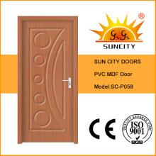 Projeto de porta de madeira de venda quente Sun City