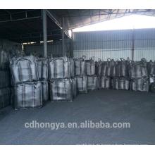 Kaliumhydroxid getränkte Kohle Pellet Aktivkohle für Wasserstoff Chloride HCL Entfernung