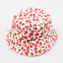 Moda de algodón Kids Sun-Protección Bucket sombreros para la venta al por mayor