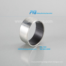 Water Lubricated Rubber Bearing Based on Cutless Bearing,Oilless Sliding Bushing with PTFE+Steel Backing,SF-1 Series DU Bushing