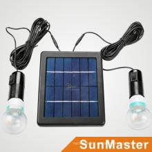 Kit de iluminación para sistema de iluminación solar Mini / Kit de iluminación para el hogar solar