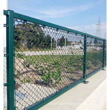 high quality Chain Link Mesh for sport field agriculture field fence application diamond hole