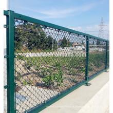 Высокое качество Загородка звена цепи / Диаманта ячеистой сети Гальванизированная Загородка звена цепи на вес кв. м.