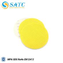 Disco lijado seco de la pared amarilla de 225m m en China con eficacia alta