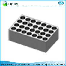 Différents types de blocs d'accessoires de bain sec