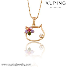 32687 Xuping jewelry wholesale china Gold color pendant with zircon for Gifts
