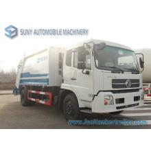 Camion à ordures de Dongfeng Tianjin 4X2 8m3 Compactor