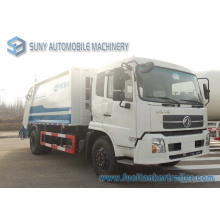 Dongfeng Tianjin 4X2 8m3 Compactor Garbage Truck