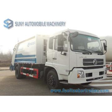Dongfeng Tianjin 4X2 8m3 Compactor Garbage Truck